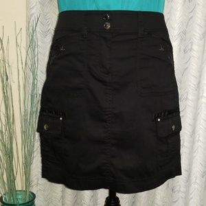 White House Black Market Cargo Couture Skirt